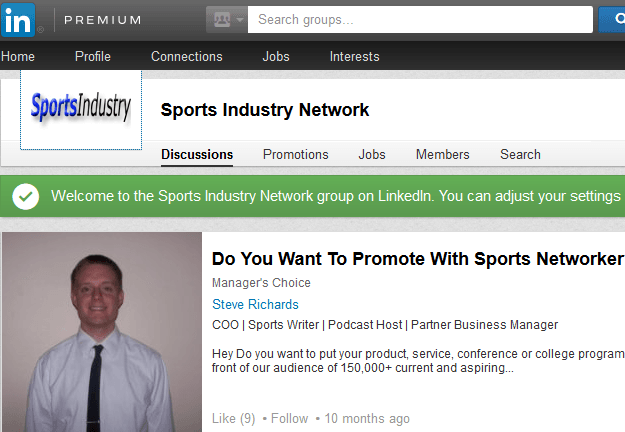 Sports Industry Network