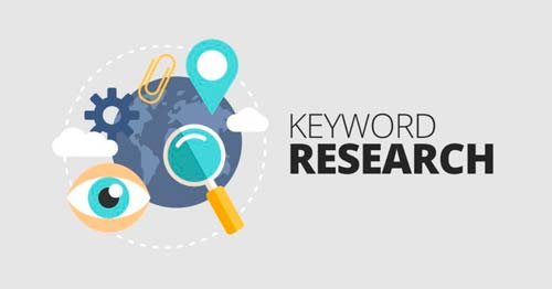Selection of keywords for the site online