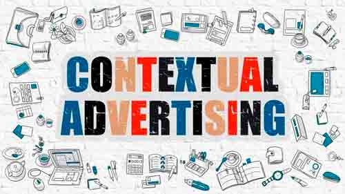 Contextual advertising to attract new customers